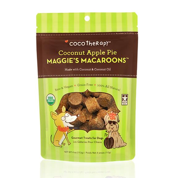 Coco Therapy Maggie's Macaroons Coconut Apple Pie, 4oz bag