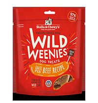 Stella & Chewy's Grass-Fed Beef Recipe Wild Weenies, 3.25-oz