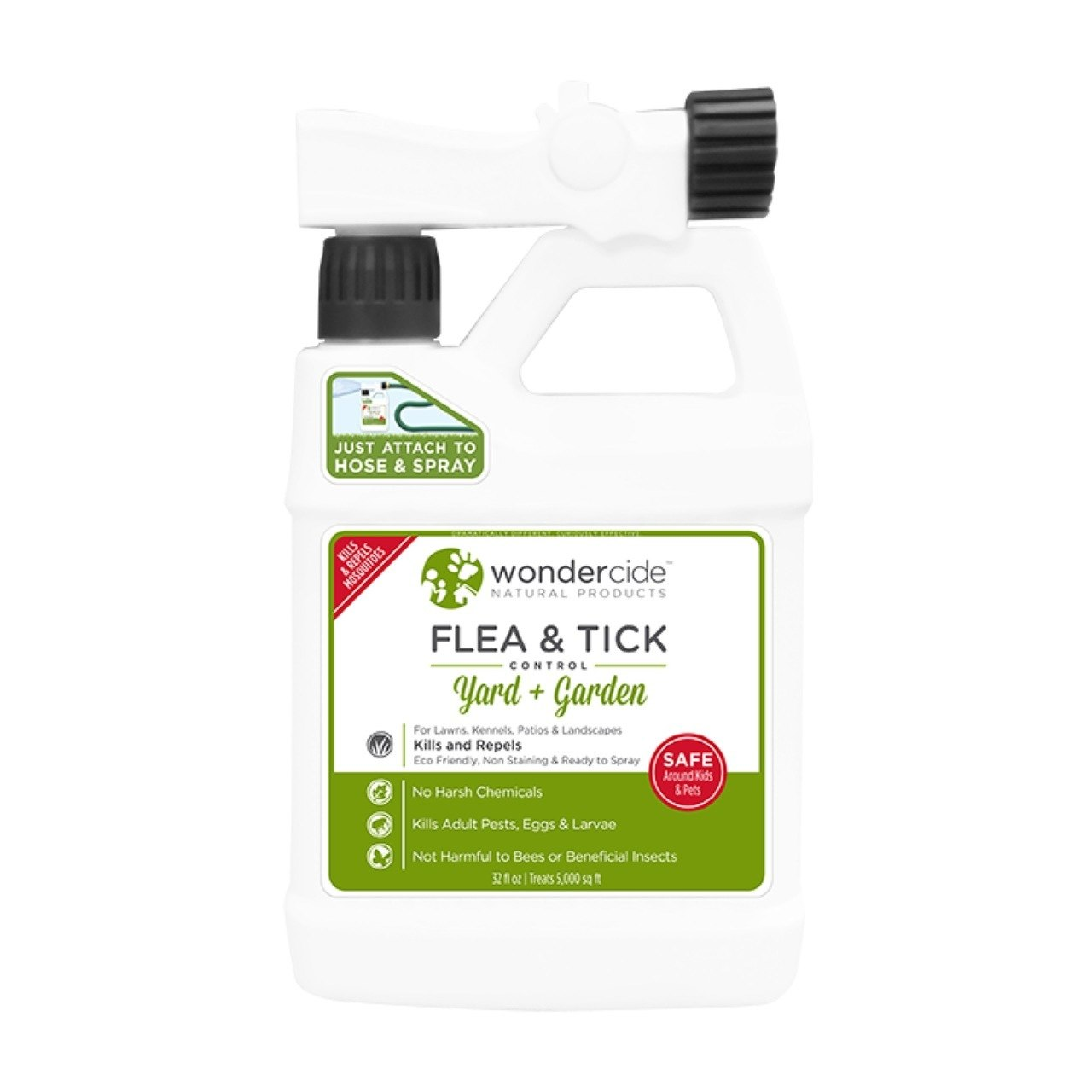 Wondercide Flea & Tick Control Yard & Garden Ready To Use Insecticide, 32-oz (Size: 32-oz) Image