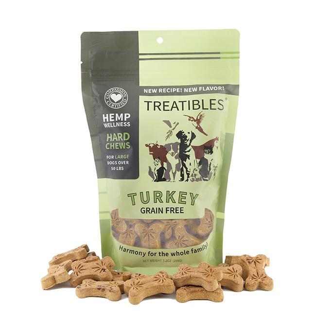 Treatibles Large Turkey 4 Mg Grain Free Chews, 9-oz (4mg)