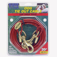 Titan Heavy Dog Tie Out Cable, 30-ft