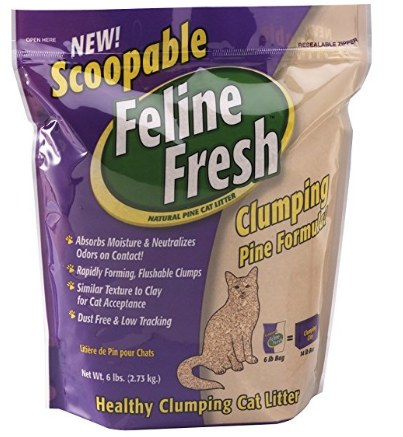 Feline Fresh Scoopable Cat Litter, 17-lbs