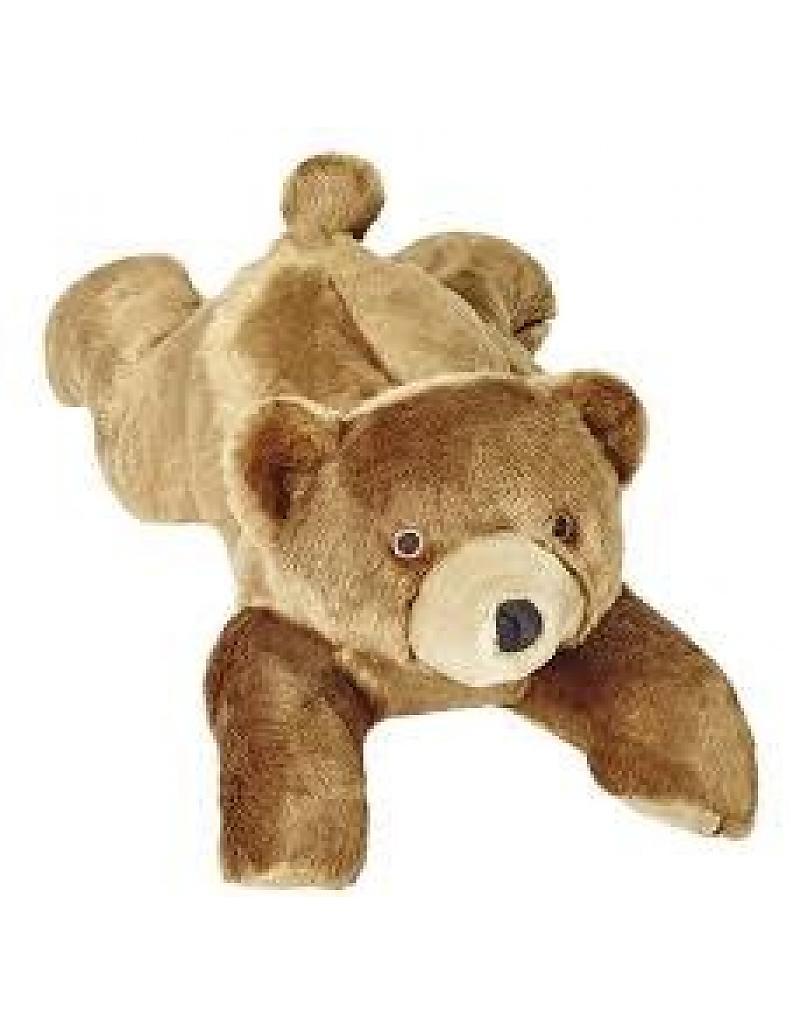 Fluff & Tuff Sadie Bear Dog Toy, 20-in