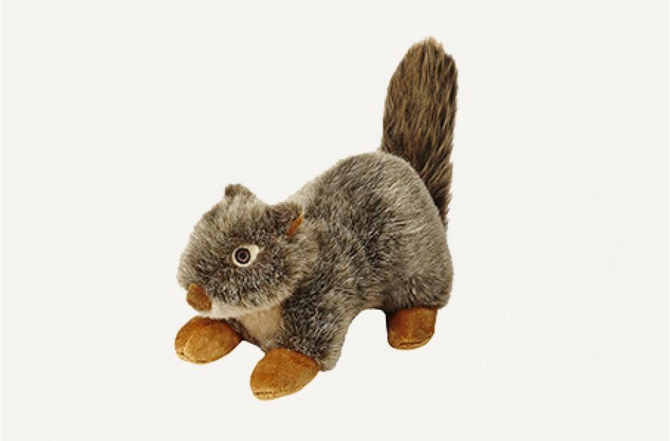Fluff & Tuff Nuts Squirrel Dog Toy, 12-in