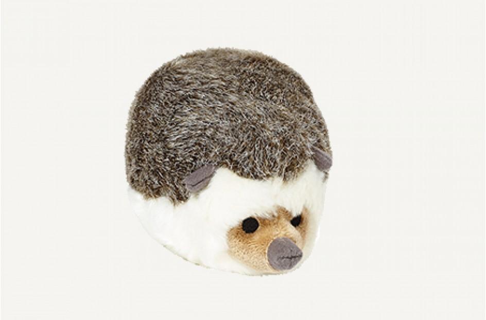 Fluff & Tuff Harriet Hedgehog Dog Toy, 8-in