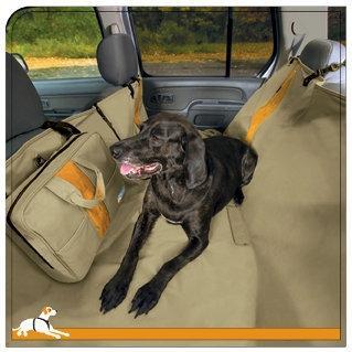 Kurgo Wander Backseat Hammock Khaki Image
