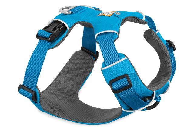Ruffwear Front Range Dog Harness, Blue Dusk, Medium (27-32-in)