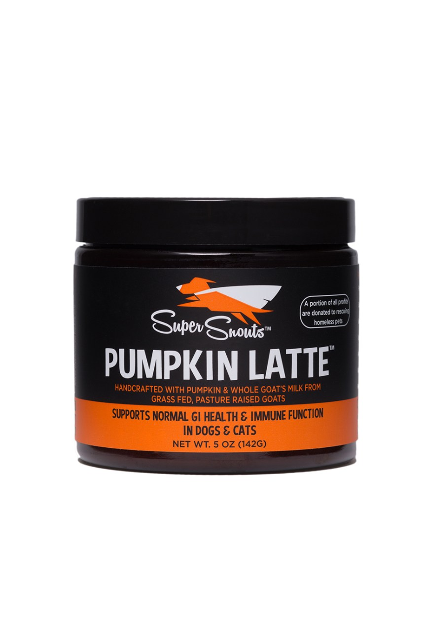 Super Snouts Pumpkin Latte G.I. Health & Immune Support Dog & Cat Supplement, 5-oz