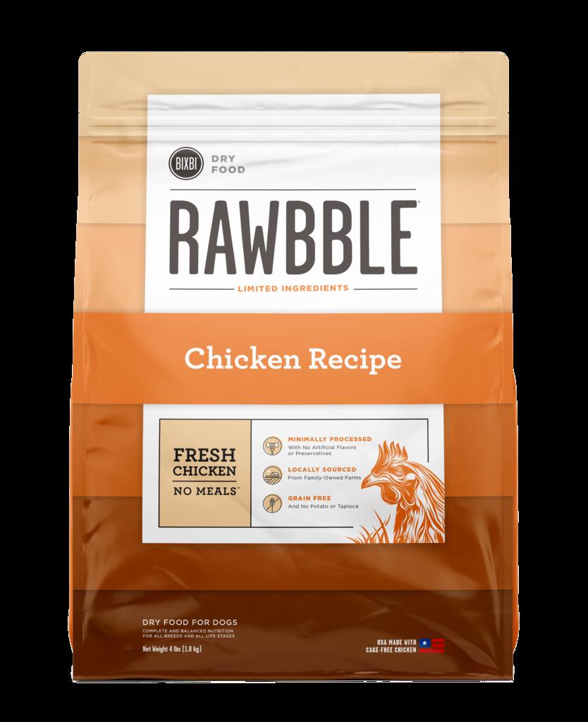 Bixbi Rawbble Chicken Recipe Dry Dog Food, 24-lb