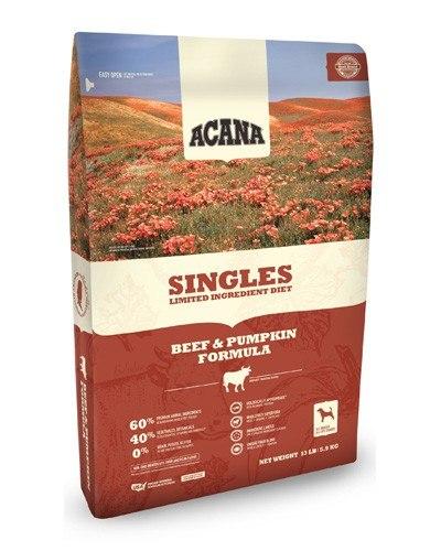 ACANA Singles Limited Ingredient Diet Beef & Pumpkin Formula Dry Dog Food, 13-lb
