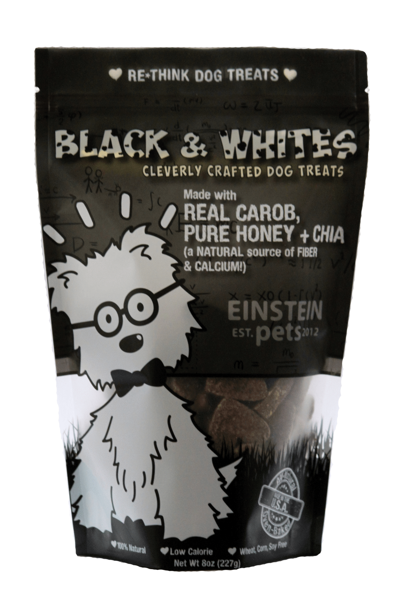 Einstein Pets Treats Black & Whites Image