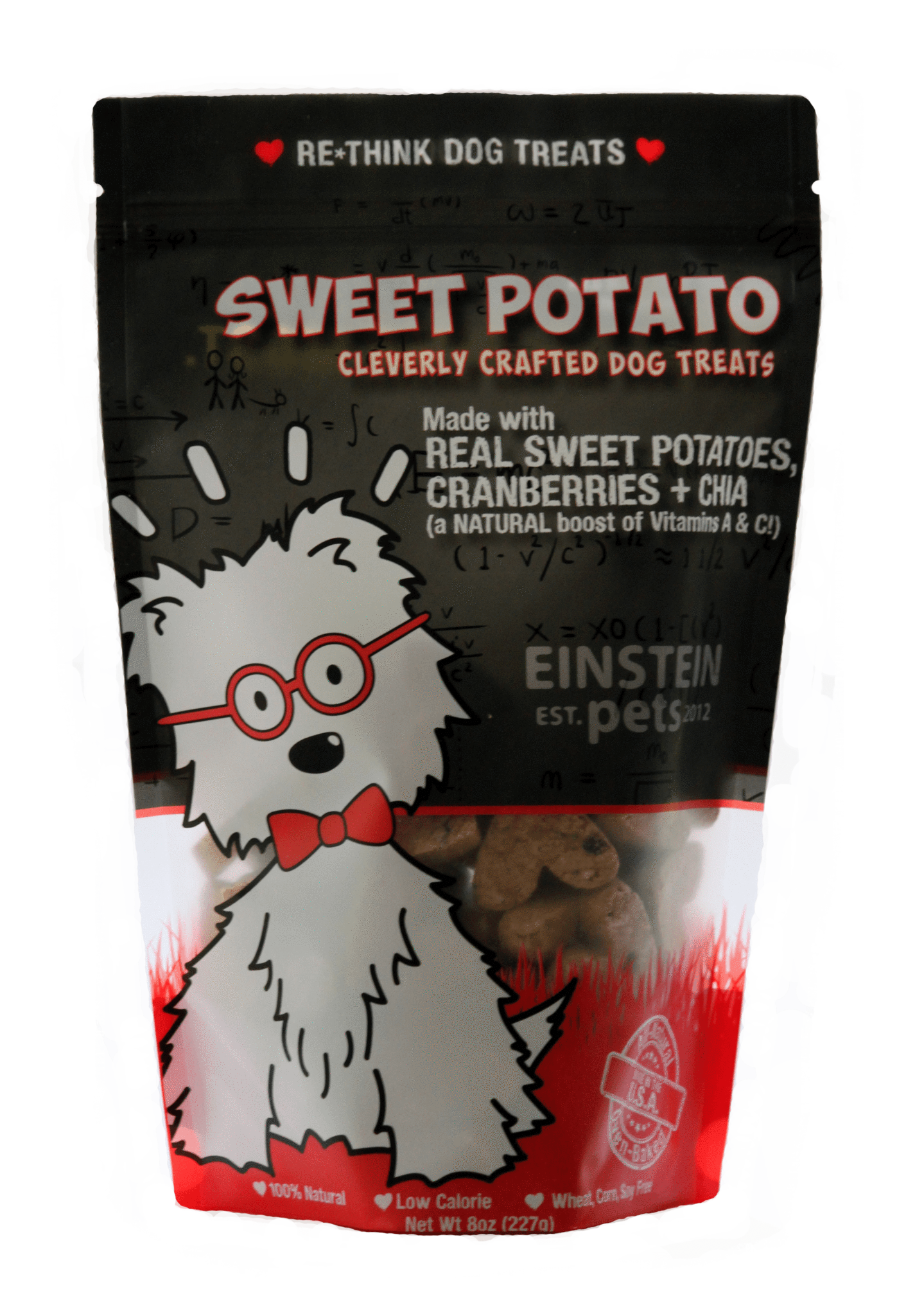Einstein Pets Treats Sweet Potato Image