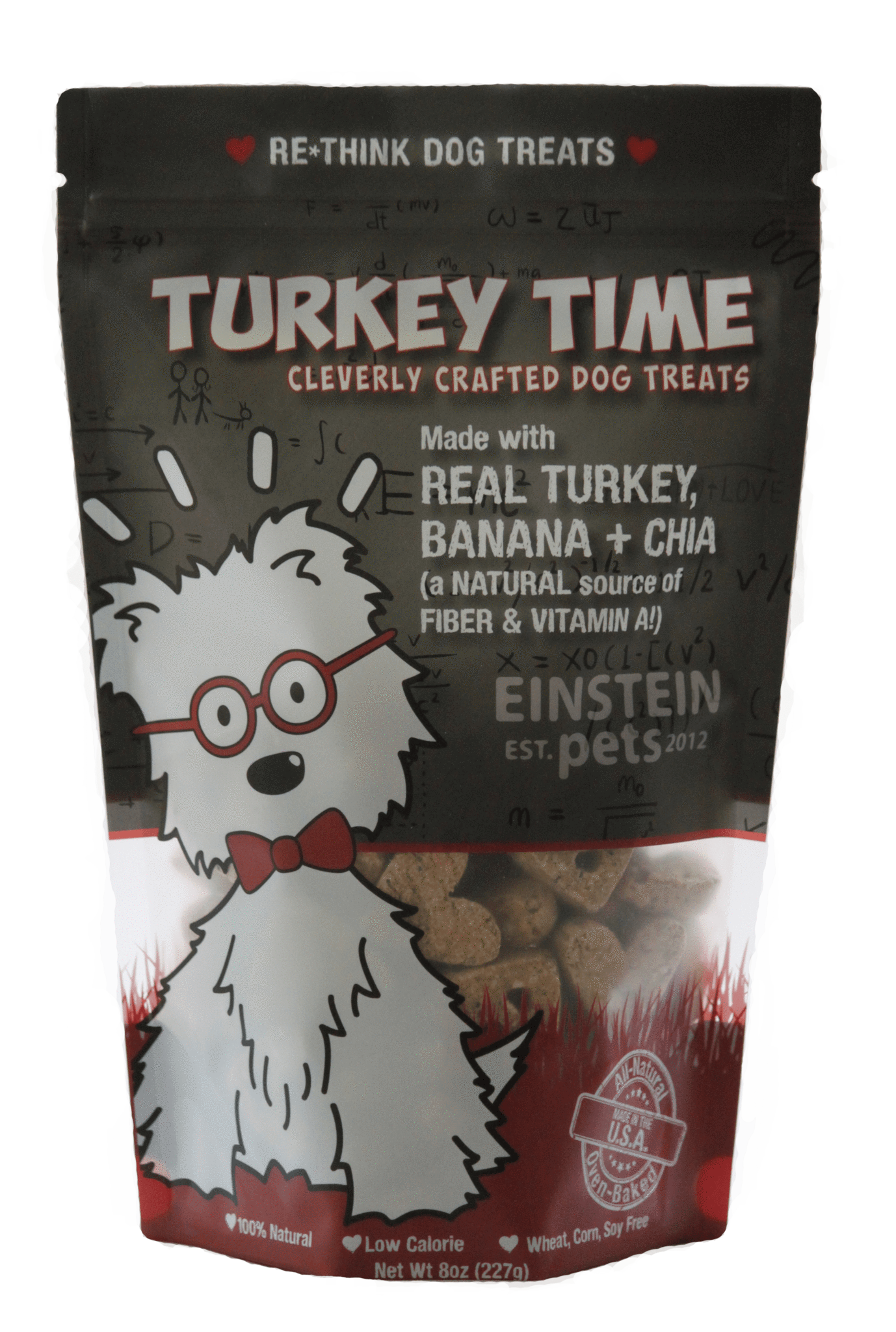 Einstein Pets Treats Turkey Time Image