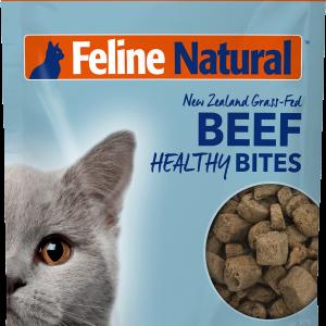 Feline Natural Healthy Bites Freeze-Dried Beef 1.76-oz