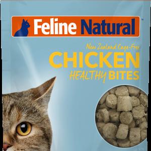 Feline Natural Healthy Bites Freeze-Dried Chicken 1.76-oz