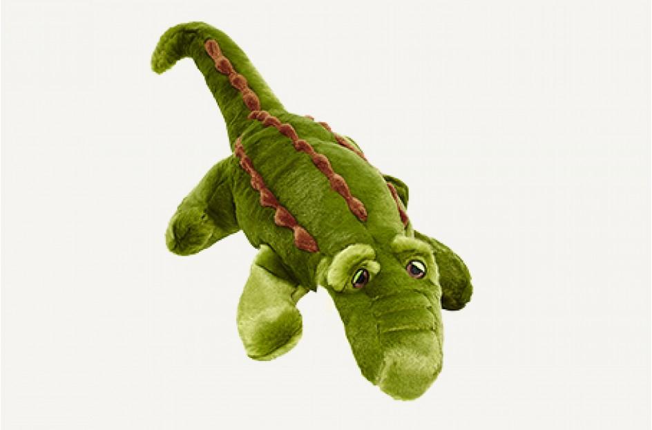Fluff & Tuff Big Daddy Gator Dog Toy, X-Large