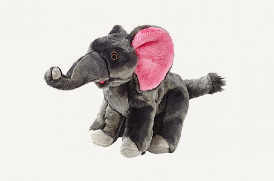 Fluff & Tuff Edsel Elephant Dog Toy, Large