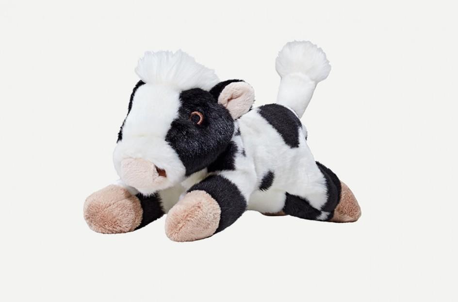 Fluff & Tuff Marge Cow Dog Toy, Medium