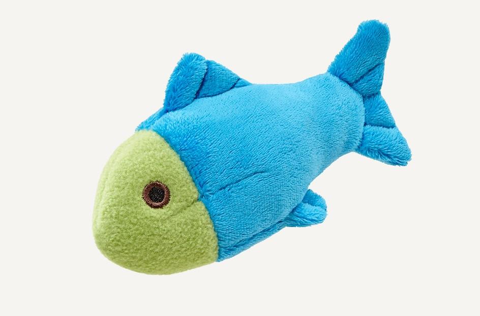 Fluff & Tuff Molly Fish Dog Toy, Small