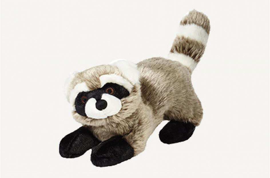 Fluff & Tuff Rocket Raccoon Dog Toy, Large