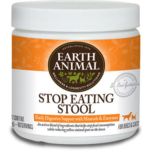 Earth Animal Stop Eating Stool Supplement, 8-oz (Size: 8-oz) Image