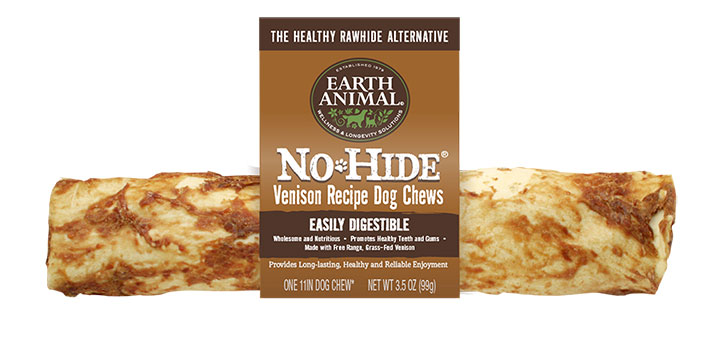 Earth Animal No-Hide Venison Chew Dog Treats Image