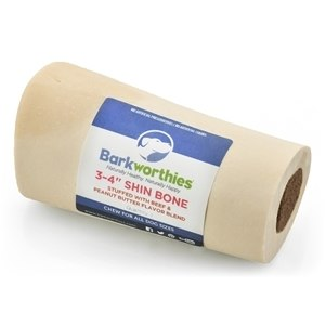 Barkworthies Shin Bone Pumpkin Filled Dog Treats Image