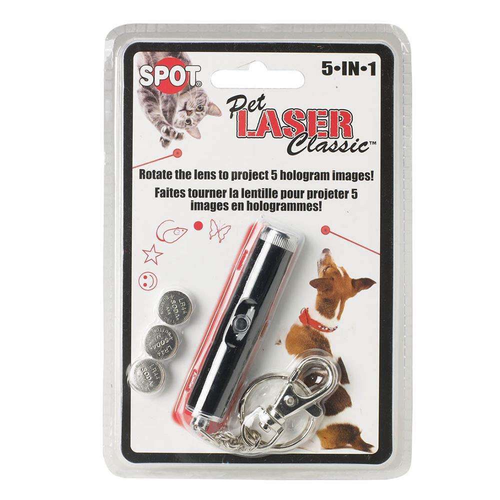 Ethical Pet Spot 5 In 1 Laser Cat And Dog Toys Image