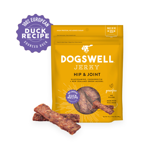 Dogswell Grillers Grain-Free Hip & Joint Duck Treat, 10-oz