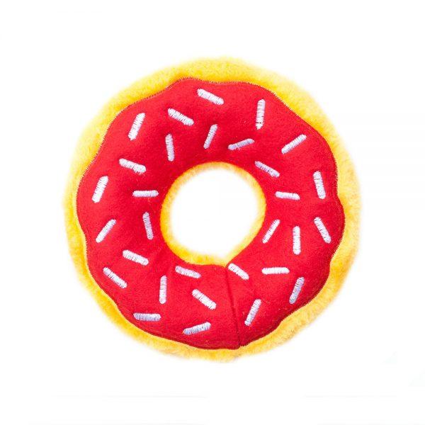 ZippyPaws Donutz Cherry, 7 x 7 x 2 in