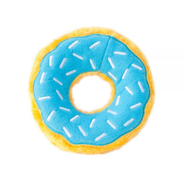 ZippyPaws Donutz Blueberry (Weights: 7 x 7 x 2 in) Image