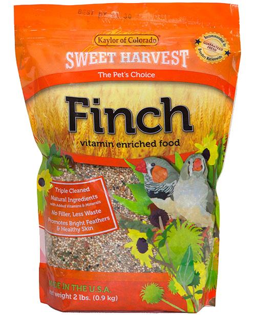 Kaylor Sweet Harvest Enriched Finch Food, 2-lb