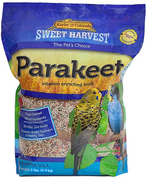 Kaylor Sweet Harvest Enriched Parakeet Food, 2-lb