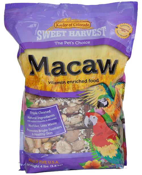 Kaylor Sweet Harvest Enriched Macaw Food, 20-lb