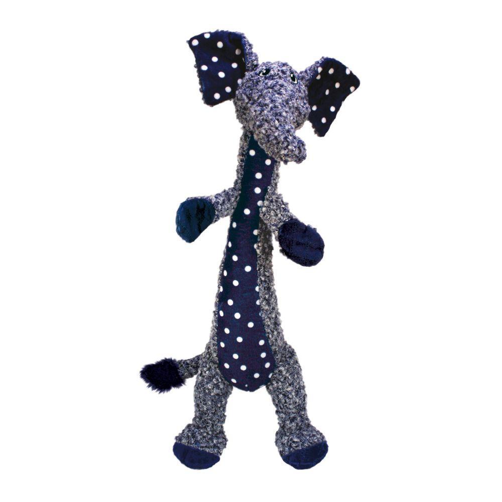 KONG Shakers Luvs Elephant Dog Toy, Large