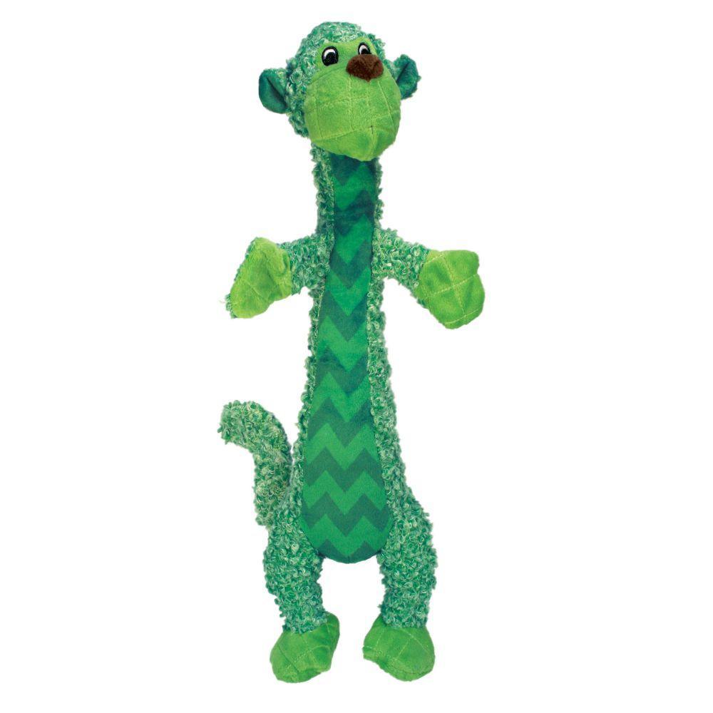 KONG Shakers Luvs Monkey Dog Toy, Small