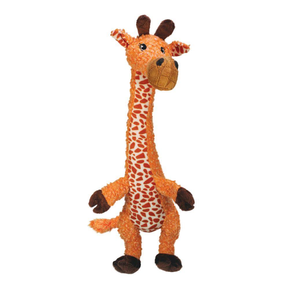 KONG Shakers Luvs Giraffe Dog Toy, Small