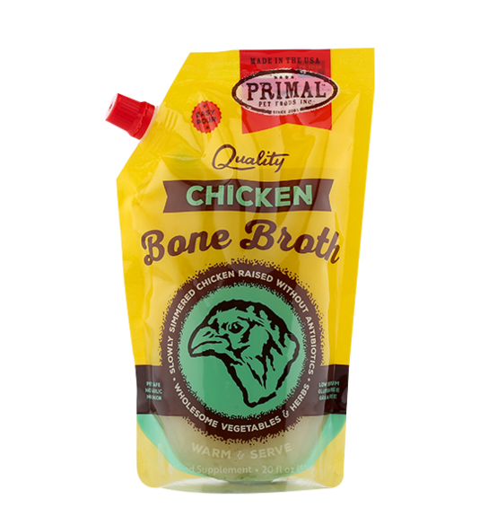 Primal Chicken Frozen Bone Broth, 20-oz