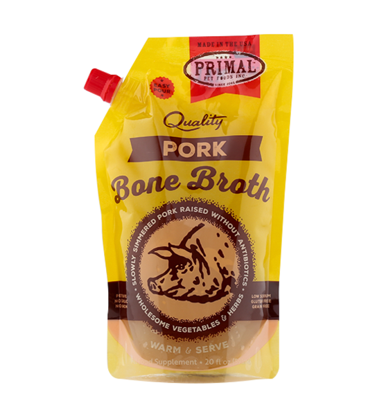 Primal Pork Frozen Bone Broth, 20-oz