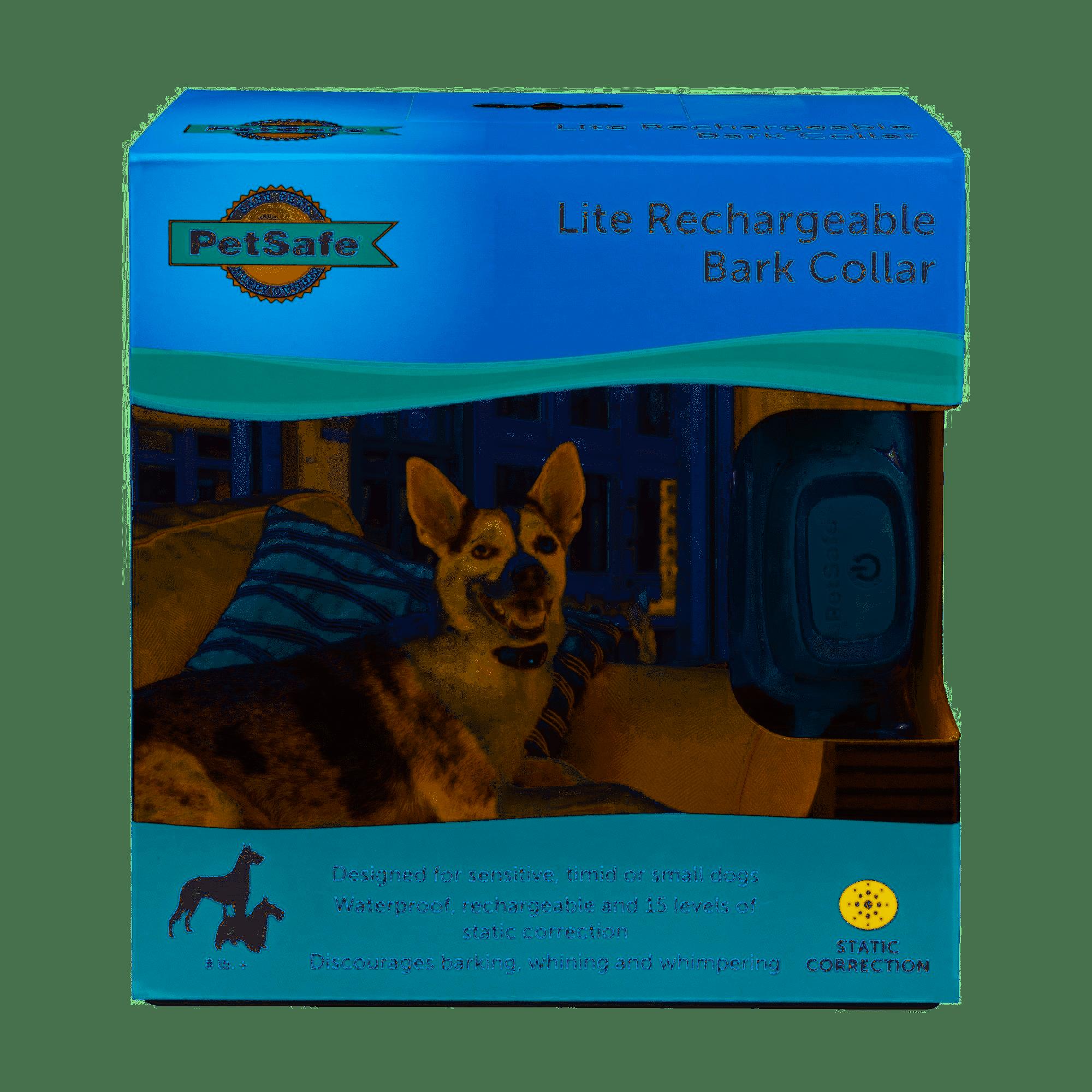PetSafe Rechargeable Bark Control Dog Training Collar, Lite