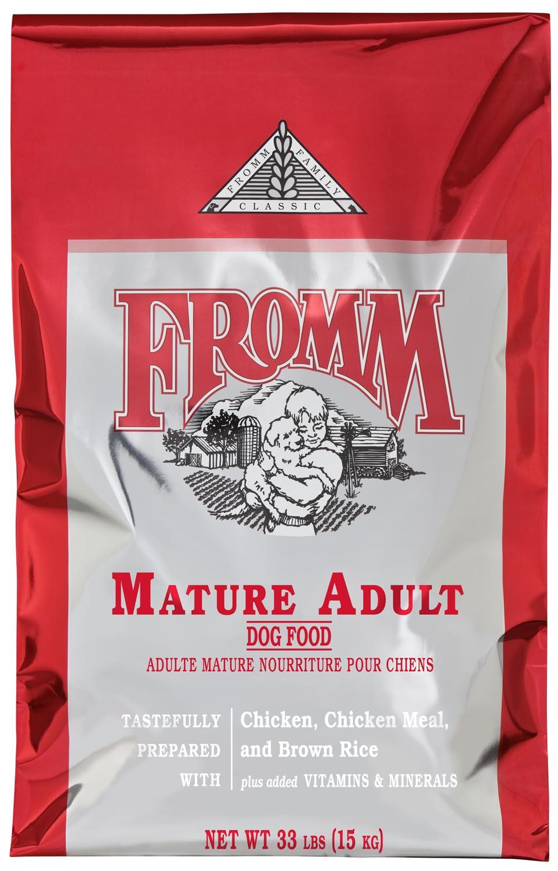 Fromm Family Classics Mature Formula Dry Dog Food, 15-lb