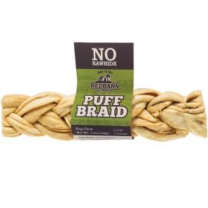 Redbarn Puff Braid Dog Treats, 9-in