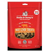 Stella & Chewy's Beef Liver Dog Treats, 3-oz