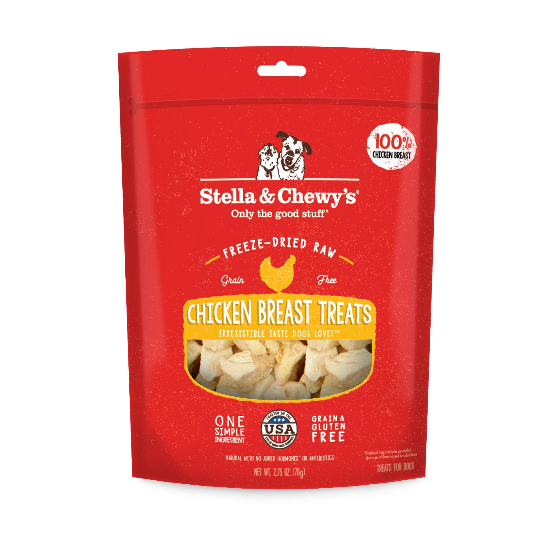 Stella & Chewy's Chicken Breast Freeze-Dried Dog Treats, 2.75-oz (Size: 2.75-oz) Image