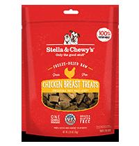 Stella & Chewy's Chicken Breast Dog Treats, 2.75-oz