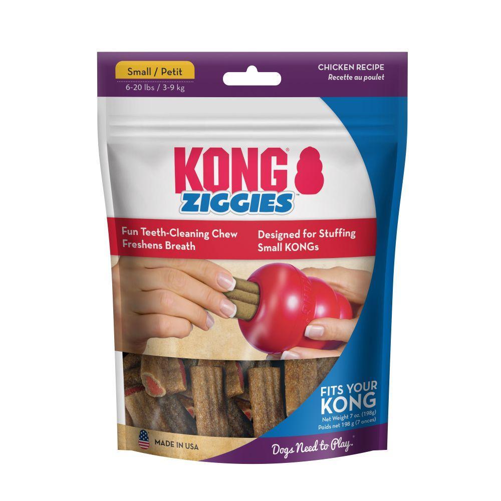 KONG Ziggies Dog Treats, Small