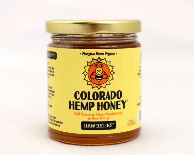 Colorado Honey Raw Relief FS Extract Jar, 12-oz (1000-mg)