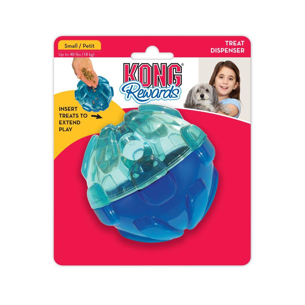 KONG Rewards Ball Dog Toy, Small