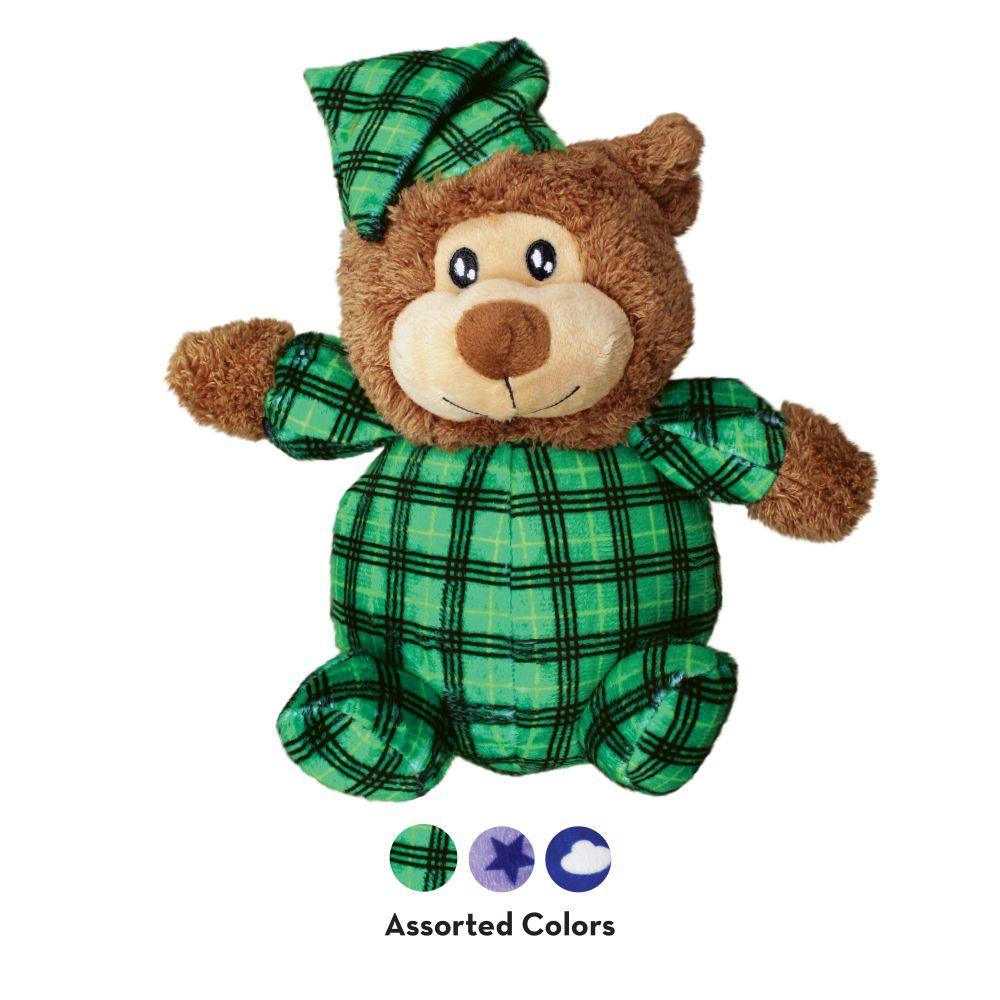 KONG Comfort Snuggles Plush Dog Toy, Color Varies, Medium