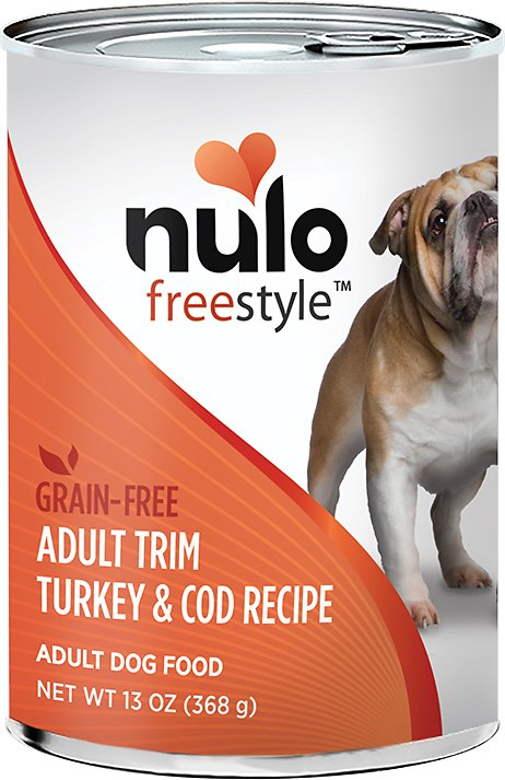 Nulo Dog Freestyle Pate Turkey & Cod Recipe Grain-Free Adult Trim Canned Dog Food Image